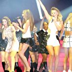 First pic of Girls Aloud performs on the stage in Sheffield