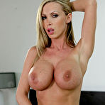 Second pic of Nikki Benz - Nikki Benz strips her lingerie on the bed and gets her hungry vagina rammed hard.