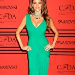 Second pic of Sofia Vergara deep cleavage in green dress