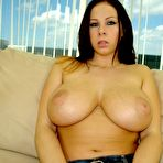 Second pic of Gianna Michaels - Gianna Michaels takes her slutty lingerie off and exposes her amazing huge breasts.