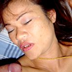Fourth pic of Daa is a sweet older mature Asian milf that loves anal sex