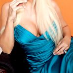 First pic of Busty Daniela Katzenberger shows deep cleavage photoshoot