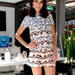 First pic of Jordana Brewster leggy wearing shorts at the Procter & Gamble Beauty Box event in NYC