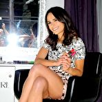Fourth pic of Jordana Brewster leggy wearing shorts at the Procter & Gamble Beauty Box event in NYC