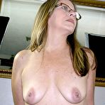 Second pic of MILF Blowjob With Glasses - Nikki D. From True Amateur Models