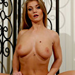 Second pic of Rita Faltoyano - Rita Faltoyano takes her lingerie off in front of the camera and gets screwed.