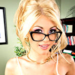 First pic of Kayla Kayden gets nailed by a colleague in her office