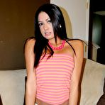 First pic of Cierra Spice gets very horny and slides a pink dildo up her tight snatch - XBabe