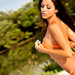 Third pic of Beach time is show-off time for top class naked model Janesa - XBabe