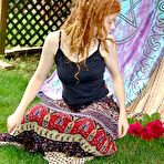 First pic of PinkFineArt | Ida Rose hairy redhead from Hippie Goddess