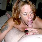 Second pic of Mature Amateur Blowjob