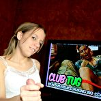 Fourth pic of Club Tug - CFNM Handjob Videos and Pictures | Amber Raines and Mr. Franklin