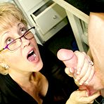 Second pic of Granny Facial from Hottie Wife Tracy  on CumBlastCity