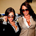 First pic of Savannah Stern & Rachel Roxxx in Big Tits Boss video - Corporate Fluffer | Reality Kings