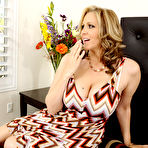 First pic of Julia Ann Busty Cougar Seduces Peeping Tom