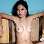 Third pic of Cute skinny Filipina babe Gerry poses nude.