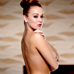 Second pic of Leanna Decker Smoldering Busty Redhead Sexy by the Fire