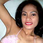 First pic of Horny young Filipina chick spreading legs in white stockings