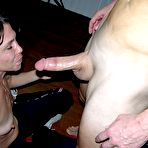 Fourth pic of True Amateur Models CFNM Blowjob - Sage and Ray Edwards