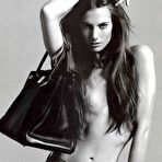 Second pic of Jessica Miller sexy and topless b-&-w scans