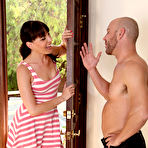 First pic of Dana DeArmond Sexy MILF Next Door Sucks Off New Neighbor