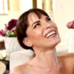 Fourth pic of Dana DeArmond Sexy MILF Next Door Sucks Off New Neighbor