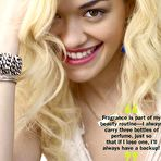Second pic of Rita Ora sexy posing scans from mags