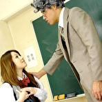 First pic of Sexy babe Ria Sakurai gets nailed in class | Japan HDV