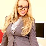First pic of Office Bombshell Hannah Claydon