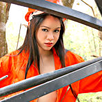 First pic of Fabulous Asia Teen Strips Off Her Orange Construction Uniform
