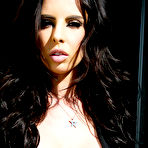 First pic of Brandy Aniston Sultry Brunette Brandishes Pierced Nipples