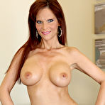 Third pic of Syren De Mer Saucy Redheaded MILF Rocks Busty Bod