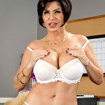 Second pic of Shay Fox Big Boob Executive Office Striptease