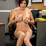 Third pic of Shay Fox Big Boob Executive Office Striptease