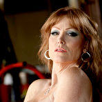 Second pic of Darla Crane Redheaded Trashy MILF Bares Big Soft Curvy Body