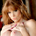 Fourth pic of Darla Crane Redheaded Trashy MILF Bares Big Soft Curvy Body