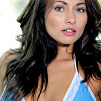 First pic of Michaela Isizzu Buff and Beautiful Brunette in a Blue Bikini