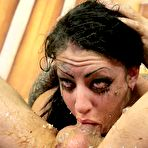 Third pic of Brutal Face Fuck Leaves Eighteen Year Old Slut Molly Smash Puking - Gagging Bitch