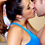 First pic of Francesca Lé Latina MILF Bangs her Fitness Trainer