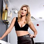 First pic of Jess Davies Leather Skirt