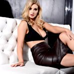 Second pic of Jess Davies Leather Skirt