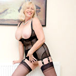 Fourth pic of Granny in sexy nylons at Sandy's Secrets