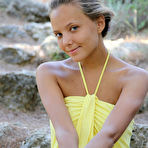 First pic of Mango A: Plenumita by Vlad Kleverov - With her charming, youthful allure, tanned complexion, beautiful firm breasts with puffy nipples, Mango's natural beauty stands out on a rocky location. @ Ideal Teens Gallery