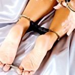 First pic of Bondage Pictures - Jenni C Handcuff Hogtie