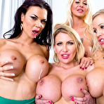 Fourth pic of Jasmine Jae, Leigh Darby, Rebecca Moore and Tia Layne in Office 4-Play VIII: UK Edition