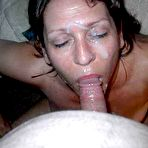 First pic of Cum On Wives - Real submitted pics of amateur housewives getting cumshots!