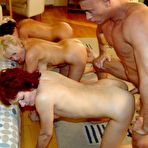Fourth pic of gangbang fuckfest