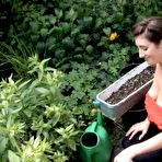 First pic of Tibby Muldoon Gardening Downblouse Nude / Hotty Stop