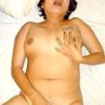 Fourth pic of Chunky amateur old asian grandma from the Philippines