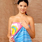 First pic of Young girl with angelic face and perfect body takes a hot shower - XBabe